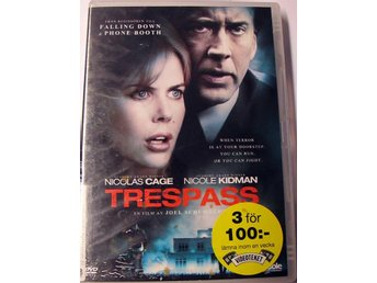 DVD FILM TRESPASS  NICOLAS CAGE