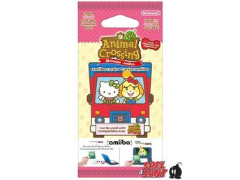 Animal Crossing Welcome Amiibo! Sanrio Collaboration Amiibo Cards Pack (6 Set)