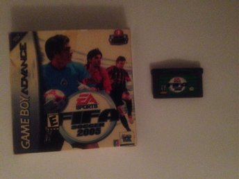 FIFA soccer 2005 Gameboy advance