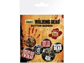 Pin Badge Pack - The Walking Dead Phrases