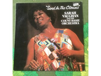 SARAH VAUGHAN & THE COUNT BASIE ORC - SEND IN THE CLOWNS PABLO RECORDS TYSK LP