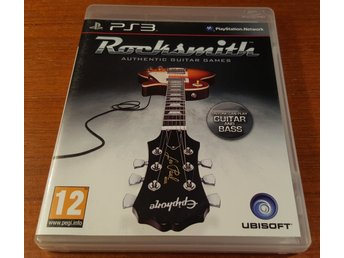 Rocksmith Authentic Guitar Games - PS3 / Playstation 3