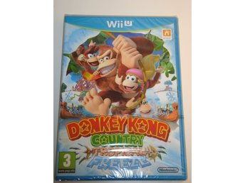 Wii U - Donkey Kong Country Tropical Freeze - 1:a utgåvan/ inplastad