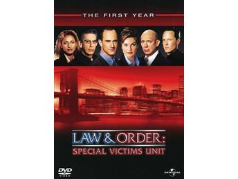 Law & order / Special Victims Unit / Säsong 1 (6 DVD)