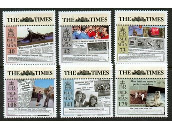 Isle of Man. The Times. ** nominal 65kr.