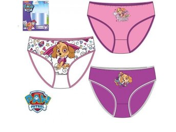 Set av 3 trosor 116 / 122  barn flicka  panties Paw Patrol Zuma panties