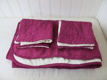 Överkast sängöverkast + 2 kuddfodral. NYA! (329170130) ᐈ Köp på Tradera 1a0dfd1a50365