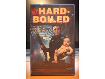 Hard Boiled - EX rental, Dutch, Enjoy Films, John Woo, Chow Yun Fat, VHS