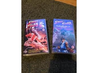 Anime Street Fighter x 2 vhs