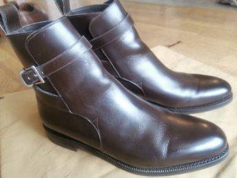 Meermin jodhpur boots calf brun 41.5 Randsydda, kalvskinn,