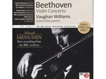 Yehudi Menuhin, BBC Scottish Orchestra - Beethoven, Vaughan Williams - 2011 - CD