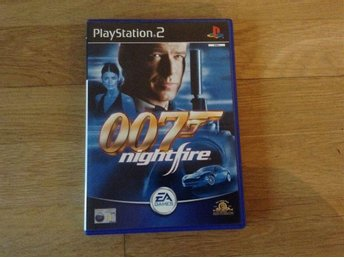 007 Nightfire James Bond till Playstation 2 Ps2