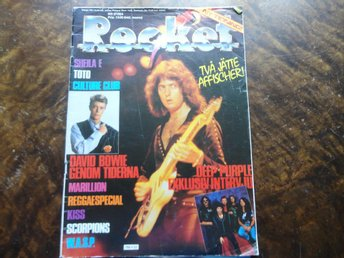 Rocket 1984/2 Deep Purple Kizz Wasp Manowar