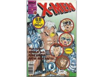 X-Men 1992 Nr 8 VF- - Vikingstad - X-Men 1992 Nr 8 VF- - Vikingstad