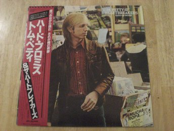 Tom Petty And The Heartbreakers - Hard Promises (JAPAN) Booklet TOPPEX