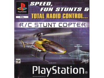 R/C Stunt Copter - Playstation