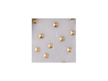 Charmsies Gold Pyramid Studs Wild