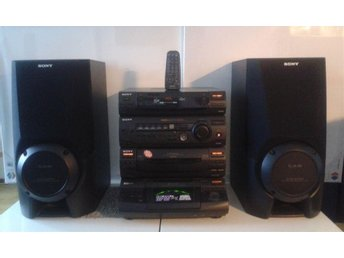 SONY XB6 COMPACT HI-FI STEREO SYSTEM