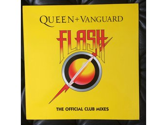 "Queen + Vanguard Flash 12"" single 2002"