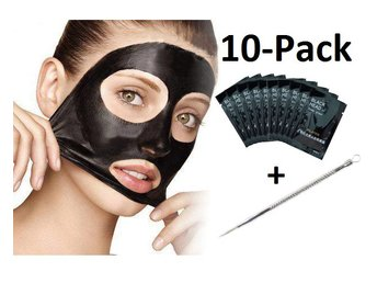 Pilaten Set - Blackhead 10-Pack + 1 st Pormaskklämmare