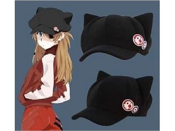 Anime Cat Ear Polar Fleece Cosplay Hatt för Kvinna Cap