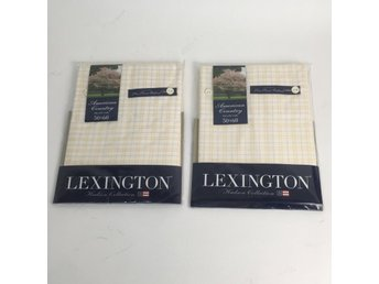 Lexington, Örngott, 2st, Beige/Vit