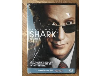 Shark Säsong 1 - James Wood    6DVD