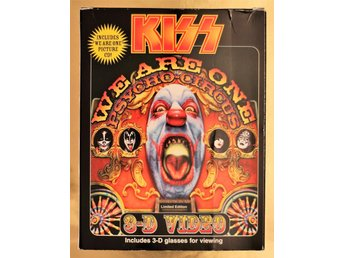 KISS 3D VIDEO + PICTURE CD WITH PAUL, GENE, ACE, PETER, CLASSIC LINEUP