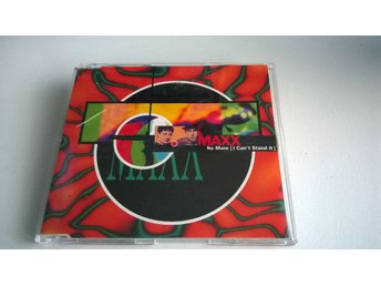 Maxx ‎– No More (I Can't Stand It), CD, Maxi-Single