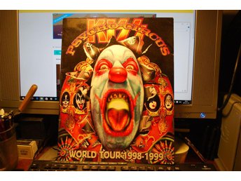 Kiss Psycho - Circus World tour 1998-1999 Program fint skick