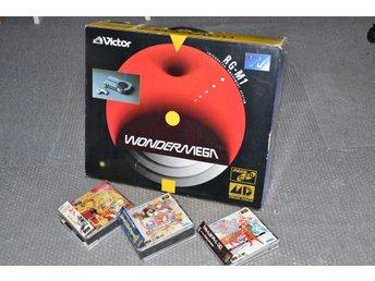 Sega Wondermega console RG-M1 10 spel - Japan - jp - Trelleborg - Sega Wondermega console RG-M1 10 spel - Japan - jp - Trelleborg