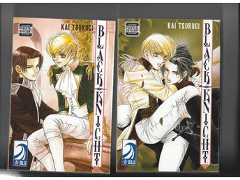 Manga Black Knight 1,2,3,4  i nyskick