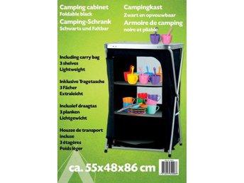 Camping skåp 56x48x86cm - Kalmar - Camping skåp 56x48x86cm - Kalmar
