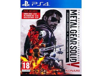 Metal Gear Solid V 5 The Definitive Experience