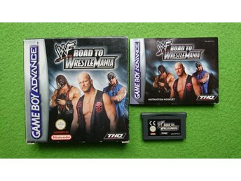 WF Road to Wrestlemania KOMPLETT Nintendo GBA