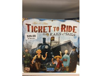 BRÄDSPEL . Ticket To Ride Rails & Sails