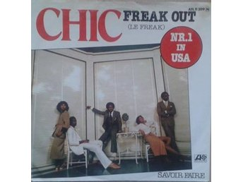 "Chic title* Le Freak* Disco 7"" Germany"