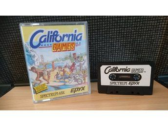 Spectrum kassett datorspel California Games