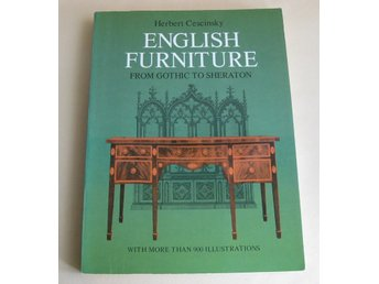 BOK ENGLISH FURNITURE  engelsk text
