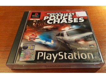 Worlds Scariest Police Chases - Komplett - PS1 / Playstation 1