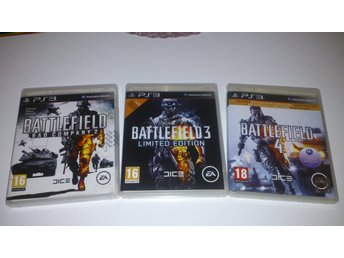 - 3-Pack Battlefield Bad Company PS3 -
