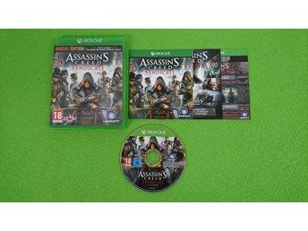Javascript är inaktiverat. - Västerhaninge - Assassins Creed Syndicate till Xbox OneSkick enligt bild och beskrivning. Fungerar på din svenska/europeiska konsol.Engelsk text/språk i spelet.Vid köp av fler varor med fraktkostnad betalar du endast högsta enskilda frakten, resten b - Västerhaninge