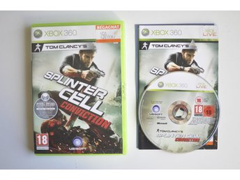 Splinter Cell Conviction (komplett) till Xbox 360