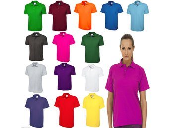 Ladies Polo Shirt Loose Fit / Long Length / Unisex