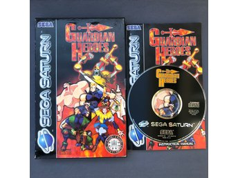 Guardian Heroes CIB till Sega Saturn PAL