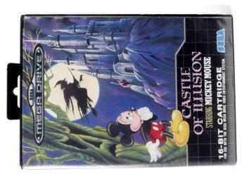 Castle Of Illusion Starring Mickey Mouse - Sega Mega Drive / Genesis - PAL (EU)