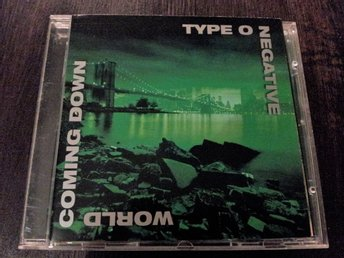 CD  TYPE O NEGATIVE - WORLD COMING DOWN