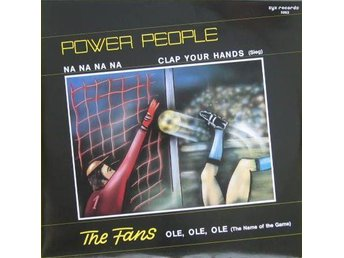 "POWER PEOPLE / FANS - Na na / ole , 12""MAXI 1984 ZYX , ( beat box )"