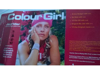 Colour Girl - Joyrider, CD, single