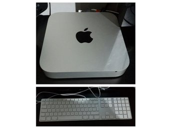 Apple Mac Mini (mid 2011). OS X El Capitan. Version 10.11.4 och Apple Keybord